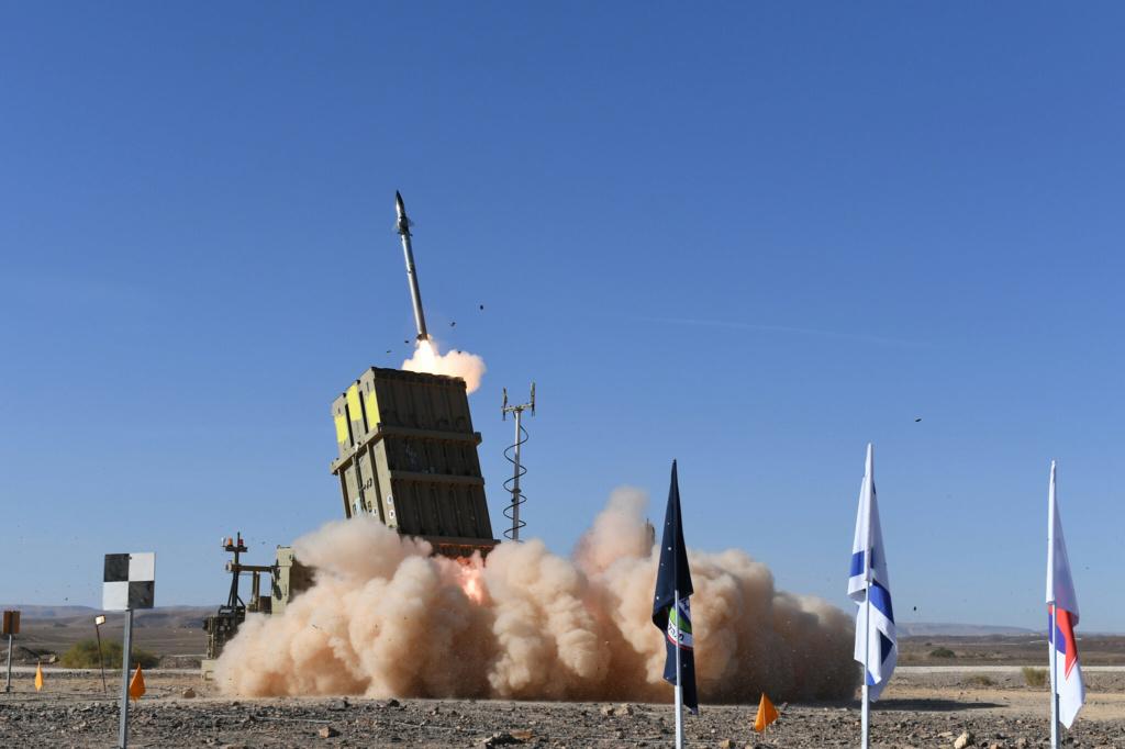 Iron Dome, Sistema Antiaéreo de Israel. Img_2427