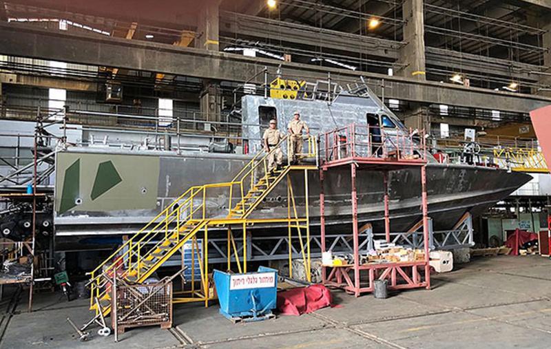 Lanchas rápidas clase Shaldag Mk II de la Prefectura Naval Argentina Sin_ty12