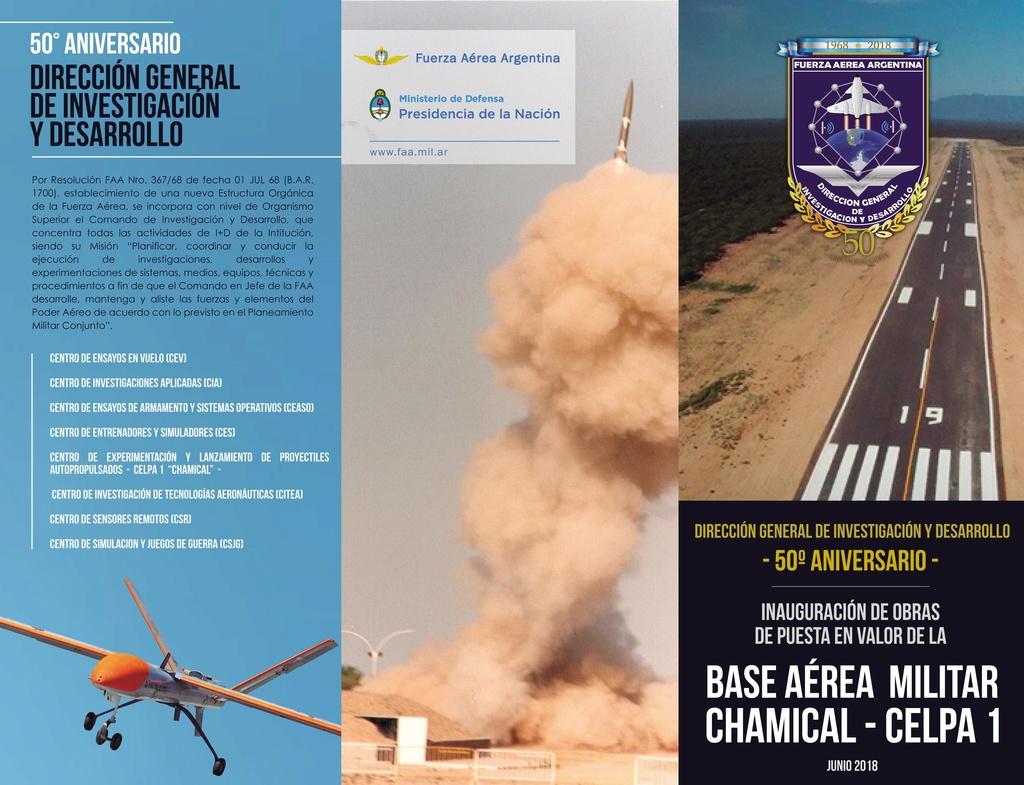 Base Aérea de Chamical, reabre sus puertas a los nuevos RPAS Tryapt10