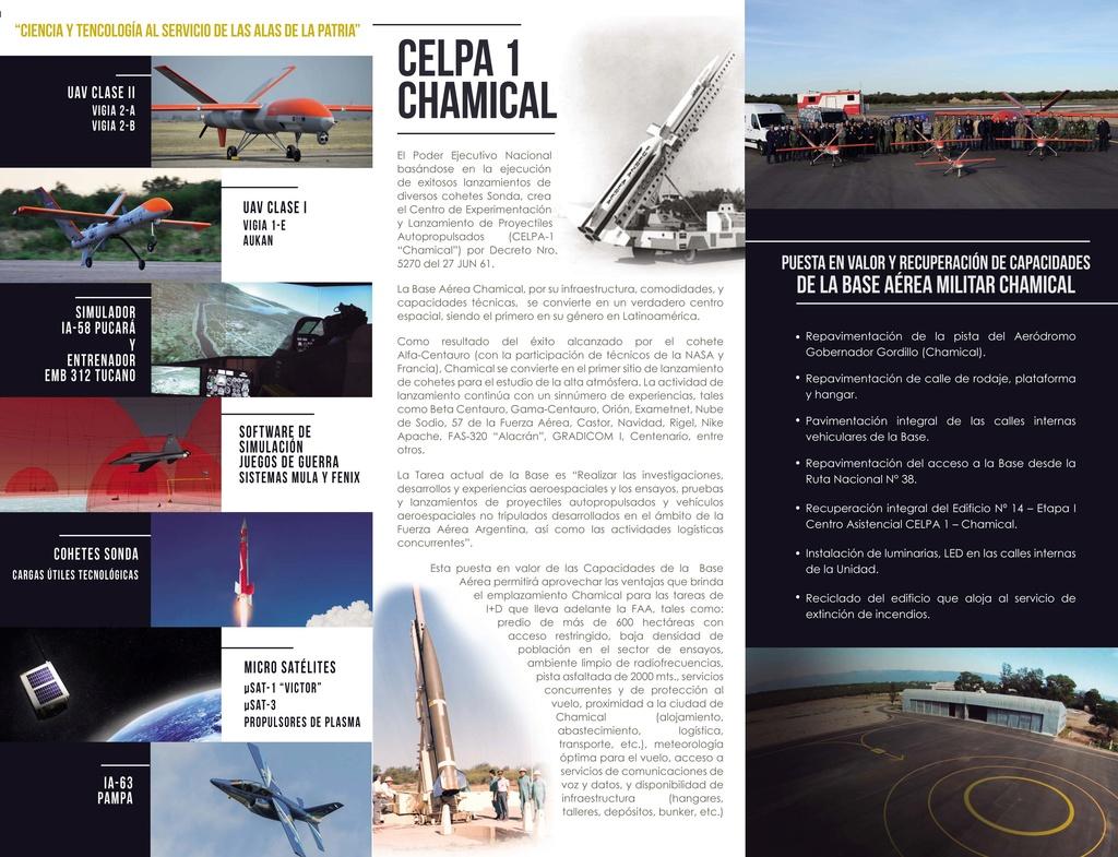 Base Aérea de Chamical, reabre sus puertas a los nuevos RPAS Tryapt11