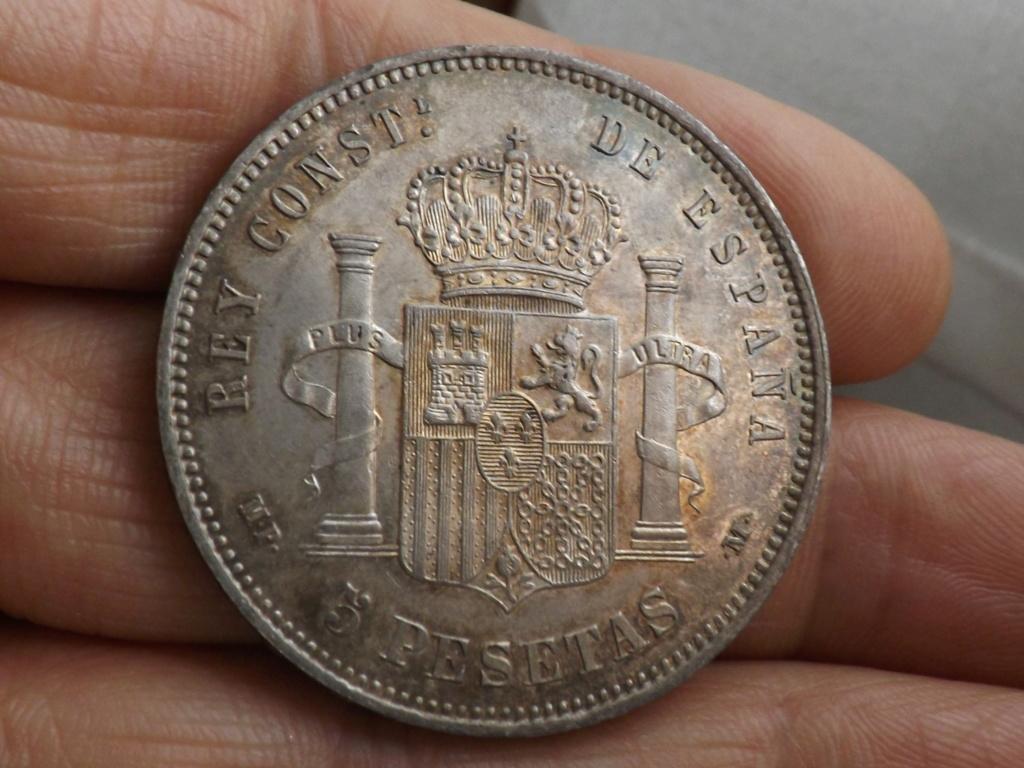 5 pesetas 1889. Alfonso XIII  Dscf1722