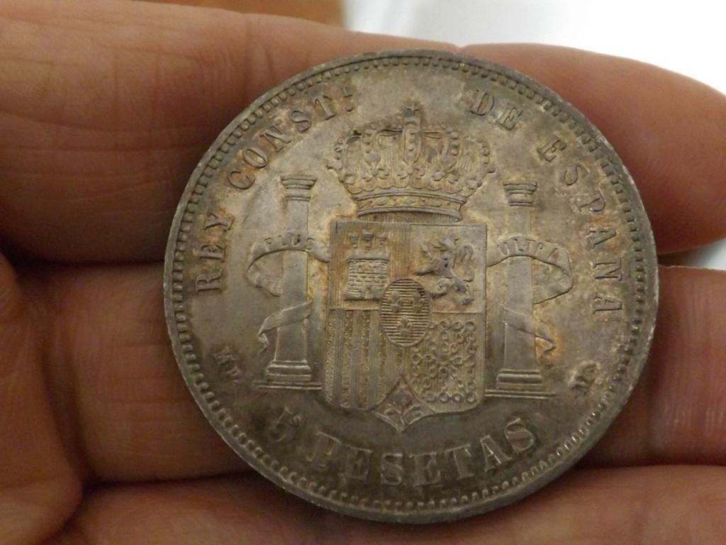5 pesetas 1889. Alfonso XIII  Dscf1723
