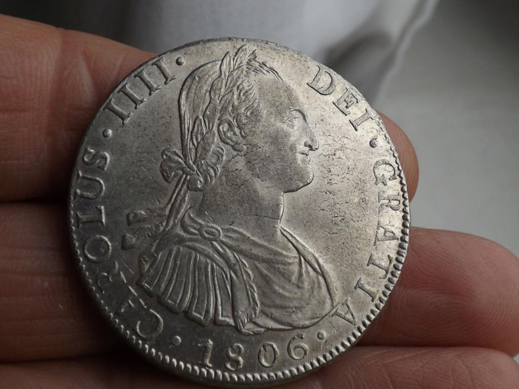 8 Reales Carlos IV 1806 Potosí Dscf6218