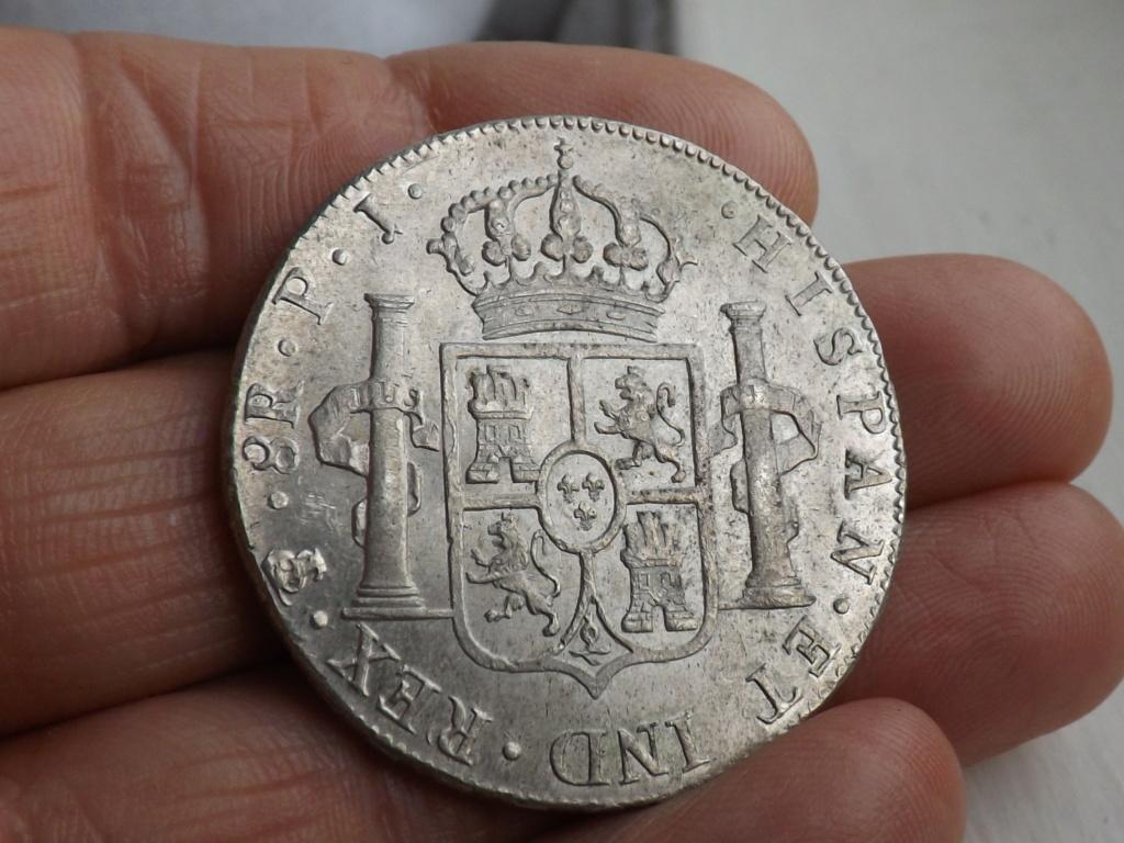 8 Reales Carlos IV 1806 Potosí Dscf6219