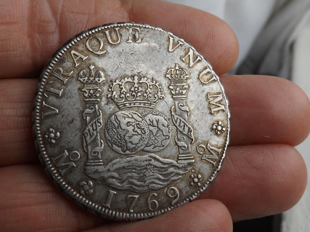 8 Reales Carlos III 1769 Mejico Dscf6220