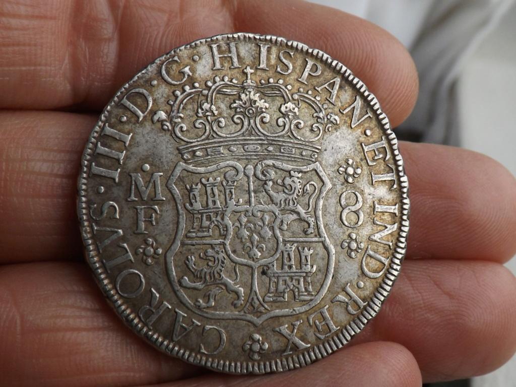 8 Reales Carlos III 1769 Mejico Dscf6221