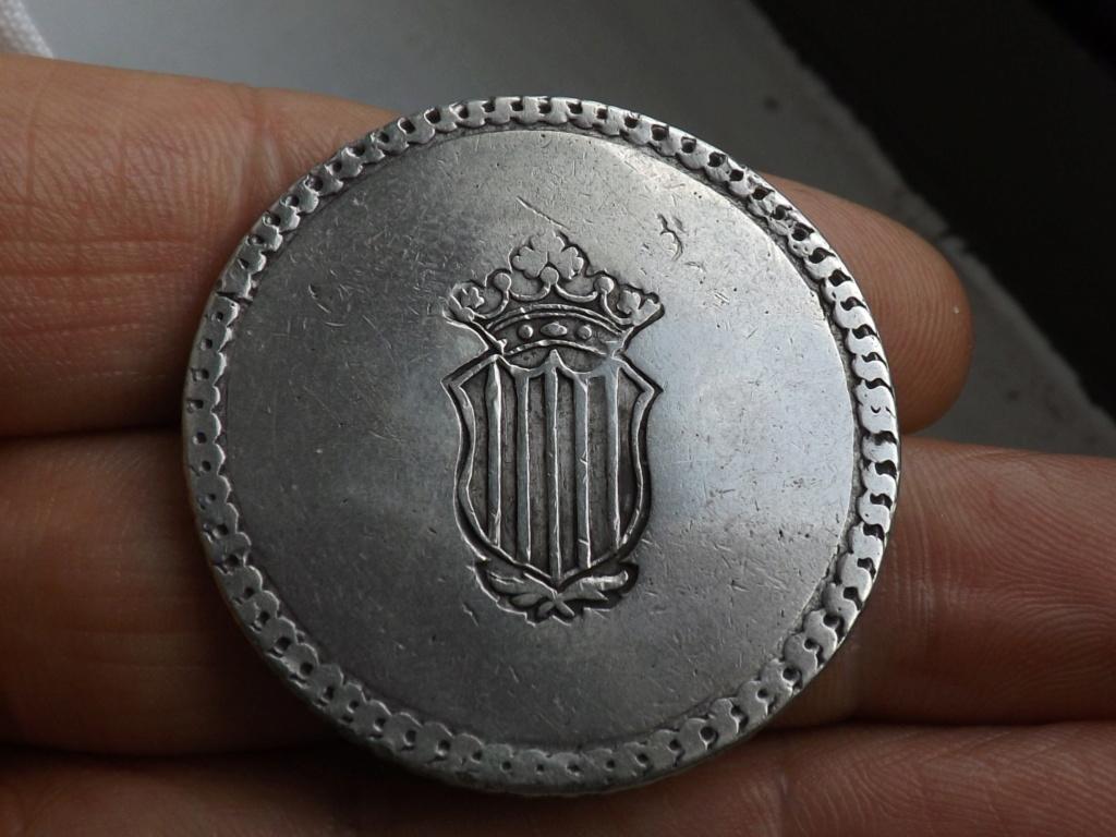 5 pesetas 1809. Fernando VII. Tarragona Dscf9311