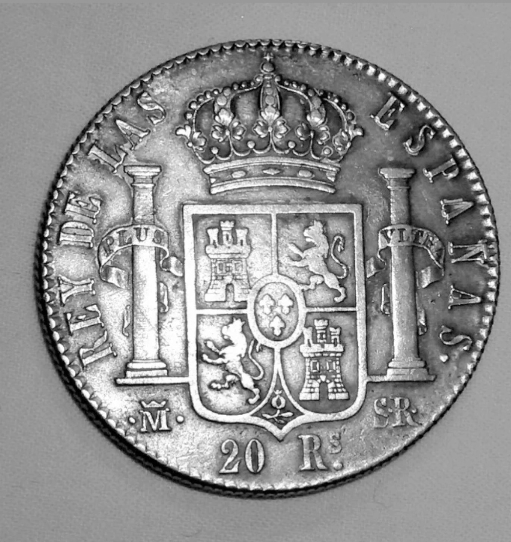 8 reales Fernando VII 1823 Madrid (copias) Screen16