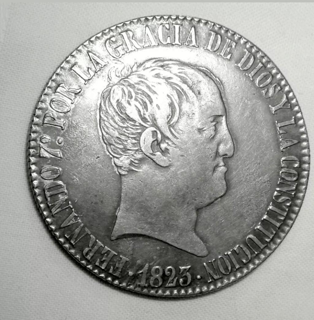 8 reales Fernando VII 1823 Madrid (copias) Screen17