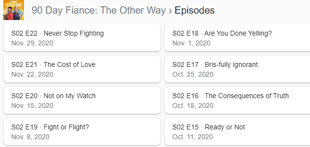 90 Day Fiancé - The Other Way - Part 2 October 11 - Discussion - *Sleuthing Spoilers* - Page 3 Captur95