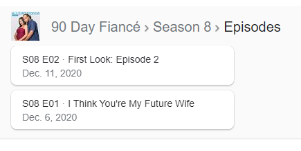90 Day Fiancé - Season 8 - Discussion - *Sleuthing Spoilers* Captur97