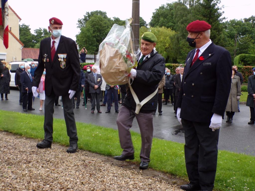 hommage a ALAN SEEGERSet a ses camarades Légionnaires a belloy en santerre 12610