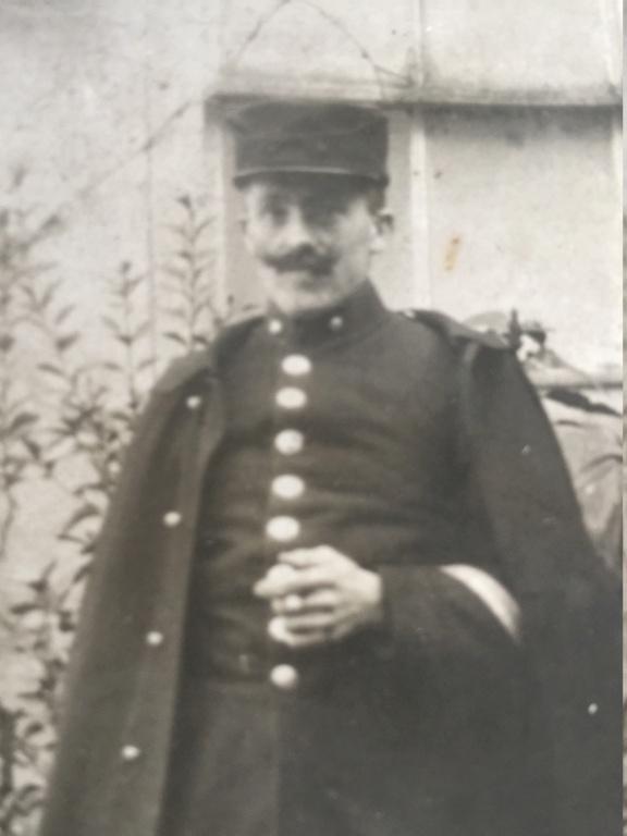 Calot avec broderie fantaisie 1918 Img_7827