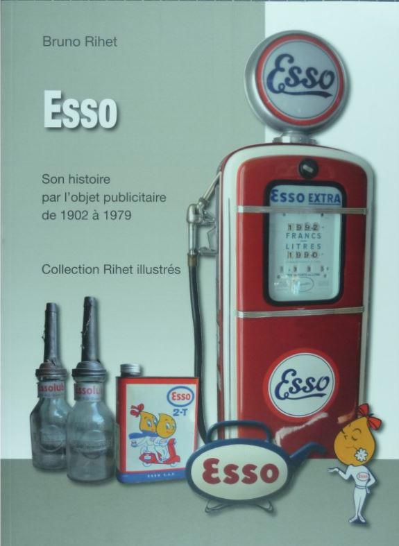 Livre sur l'histoire de ESSO 1214