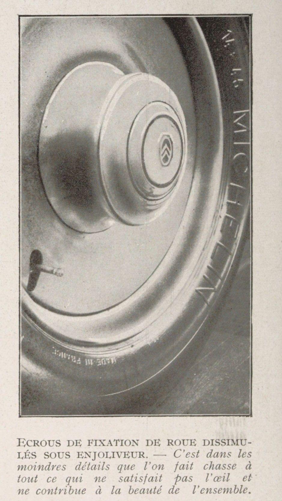 les CITROËN  à propulsion : B2, C4, C6, Rosalie.... - Page 15 1309