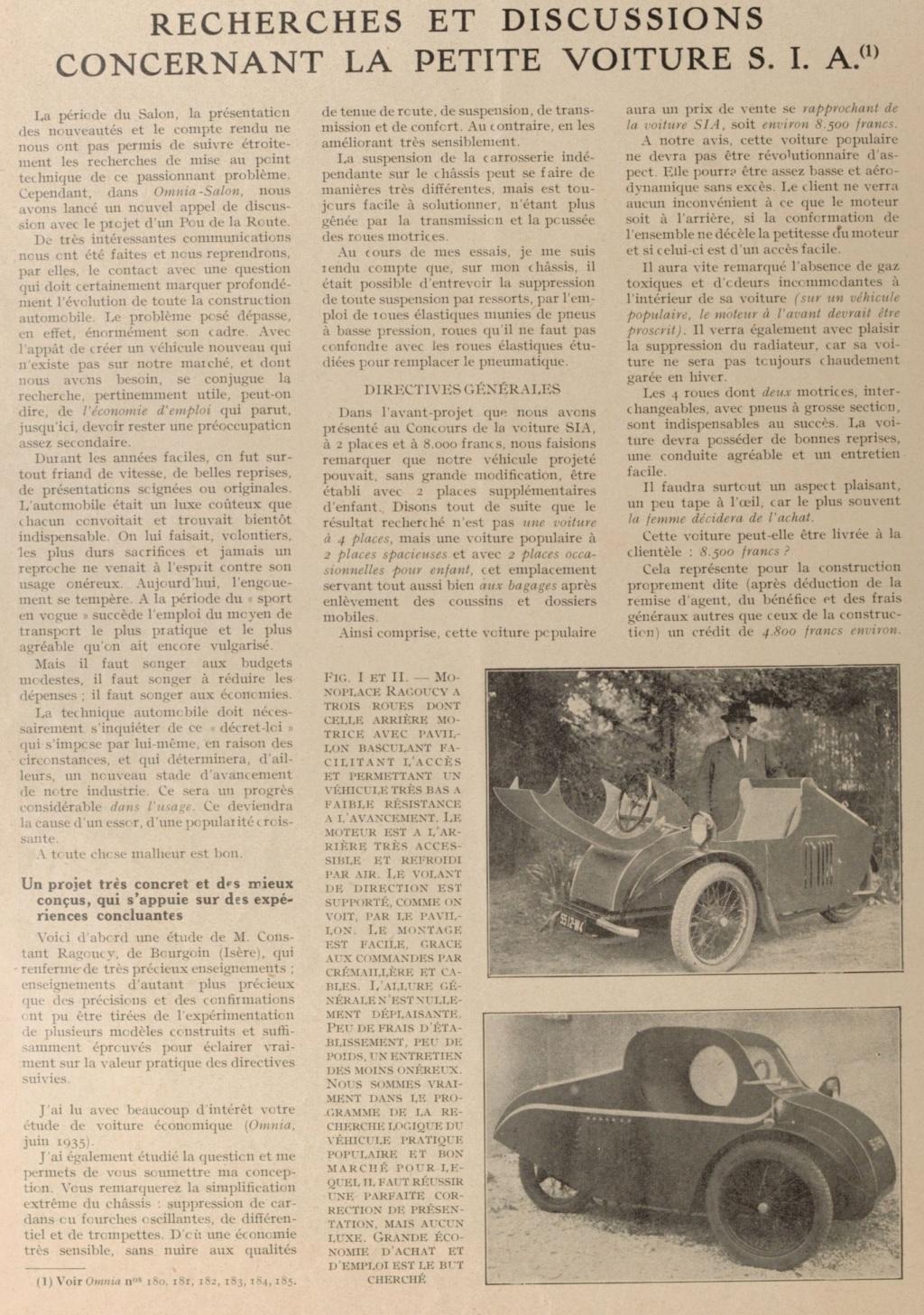 Tricyclecar RAGOUCY 189