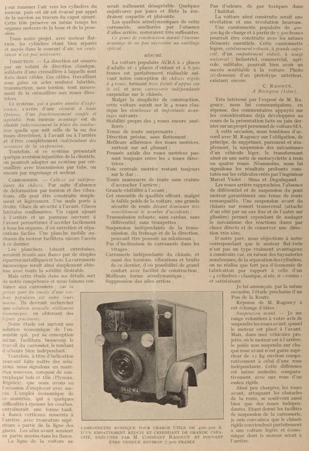 Tricyclecar RAGOUCY 193