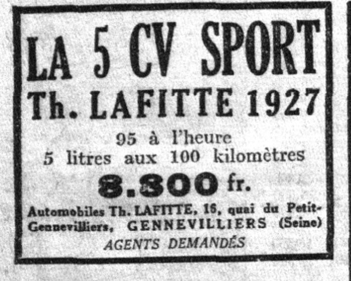 Cyclecar Lafitte - Page 4 232