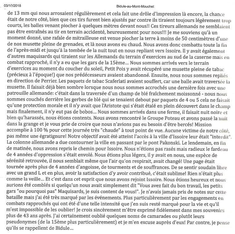 HORDAN Victor Alias Mousse (Mont Mouchet,Chaméane etc.) Bidule13