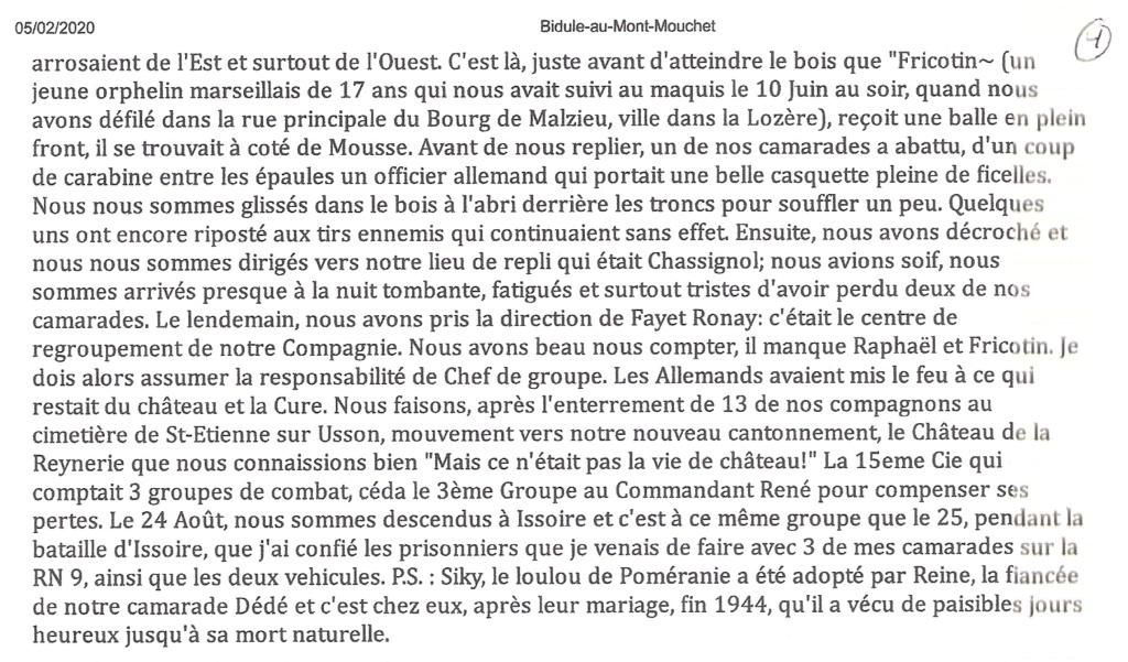 HORDAN Victor Alias Mousse (Mont Mouchet,Chaméane etc.) Chamea12