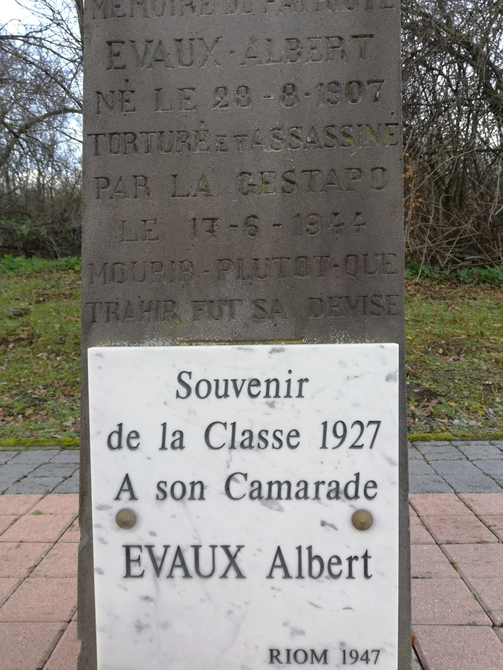 hommage à EVAUX Albert Evaux_11