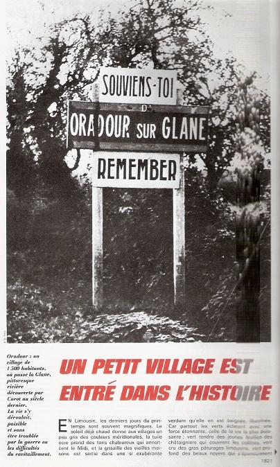 Le massacre d'Oradour-sur-Glane (Haute-Vienne) - Page 5 Oradou10