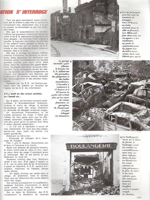 Le massacre d'Oradour-sur-Glane (Haute-Vienne) - Page 5 Oradou14