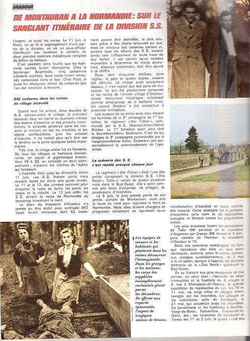 Le massacre d'Oradour-sur-Glane (Haute-Vienne) - Page 5 Oradou21