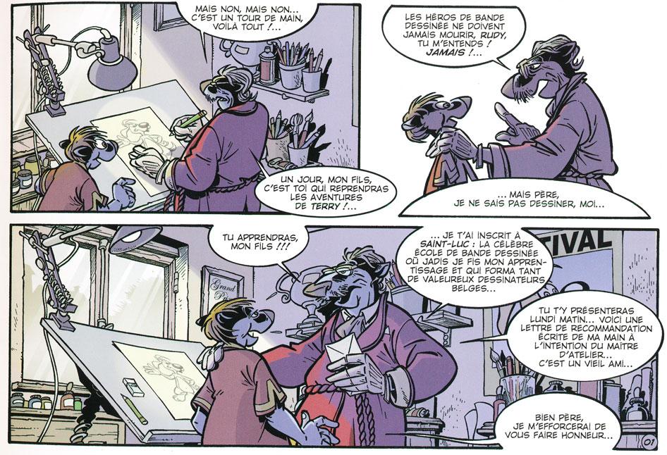 Les BD qui racontent la BD - Page 3 Canard13