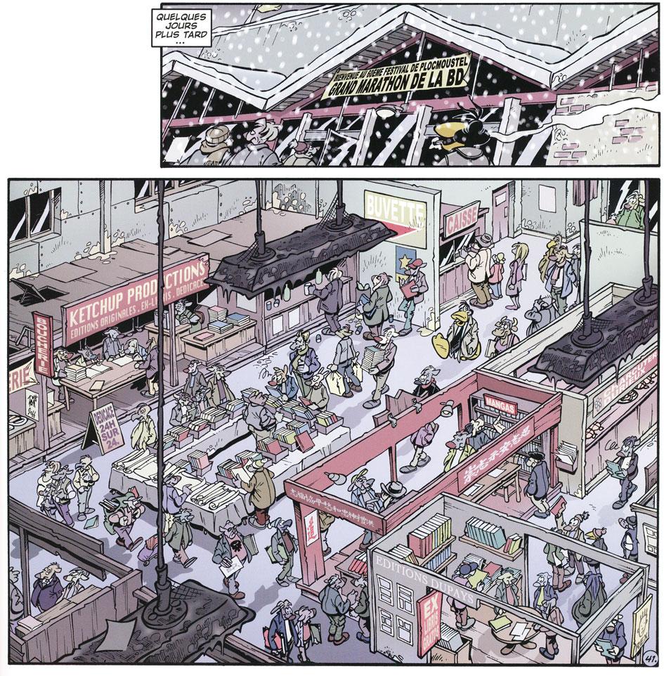Les BD qui racontent la BD - Page 3 Canard19