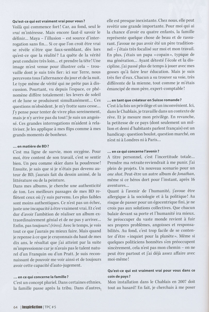 Cosey, l'éternel voyageur - Page 6 Cosey-11