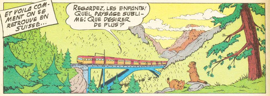 La Suisse dans la BD - Page 2 Picsou10