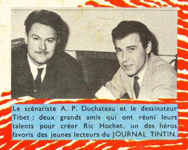 André-Paul Duchâteau  IN MEMORIAM Porque10