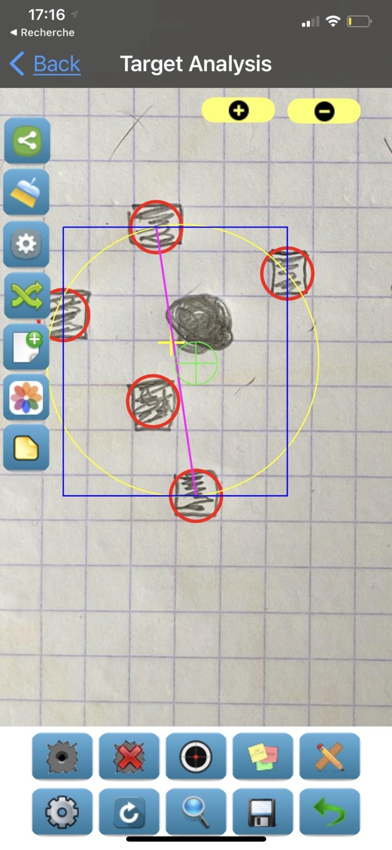 Groupe size mode de calcul Submoa, ballistic-x, targetScan  ?  22120110