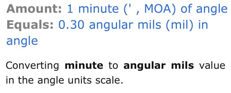 Groupe size mode de calcul Submoa, ballistic-x, targetScan  ?  7ebe0f10