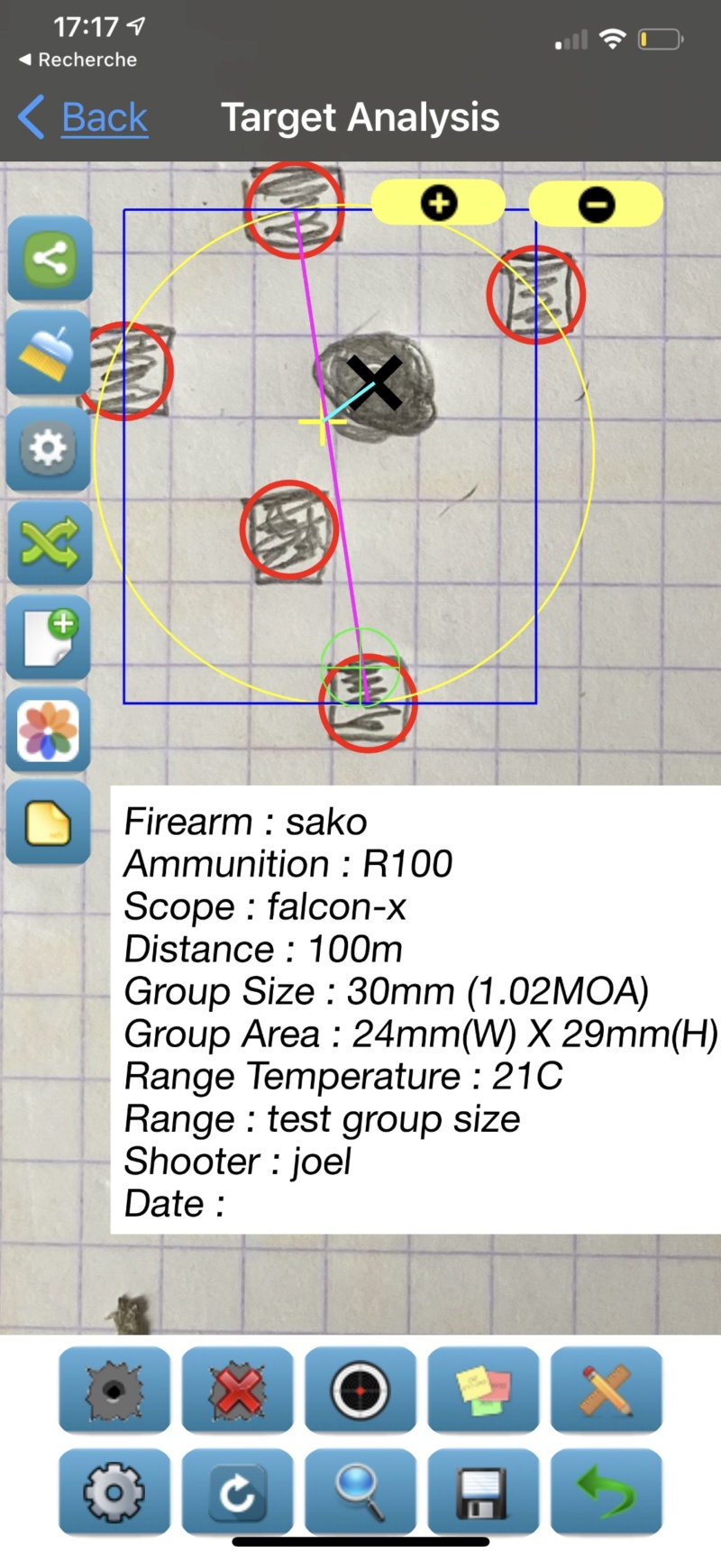 Groupe size mode de calcul Submoa, ballistic-x, targetScan  ?  D419b110