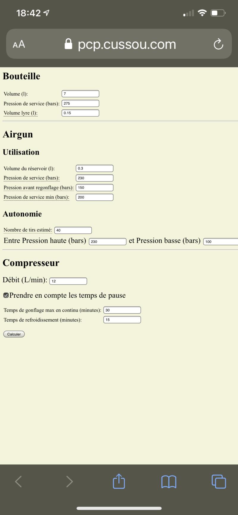 PCP: calculateur du nombre de remplissages/gonflages avec une bouteille - Page 5 F297a910