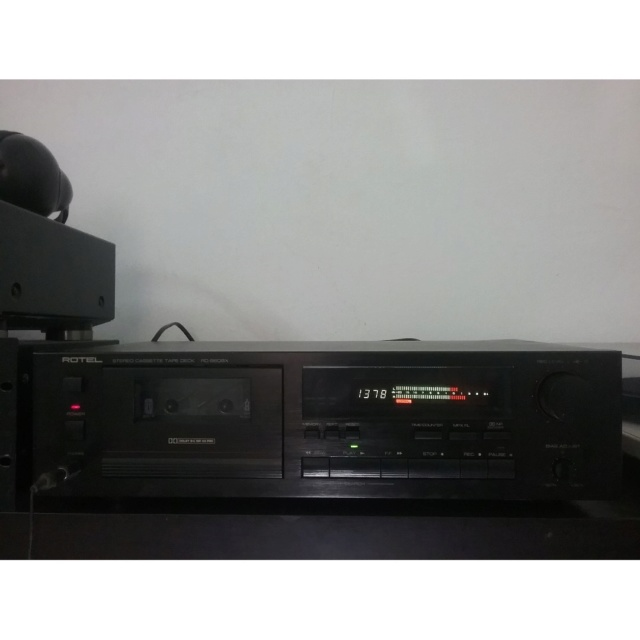 (SOLD) Rotel RD-960BX Cassette Deck Rotel_15