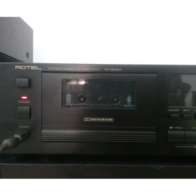 (SOLD) Rotel RD-960BX Cassette Deck Rotel_16