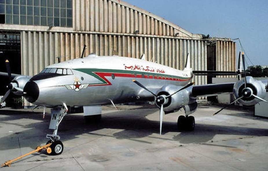 Anciens avions de la RAM 2110