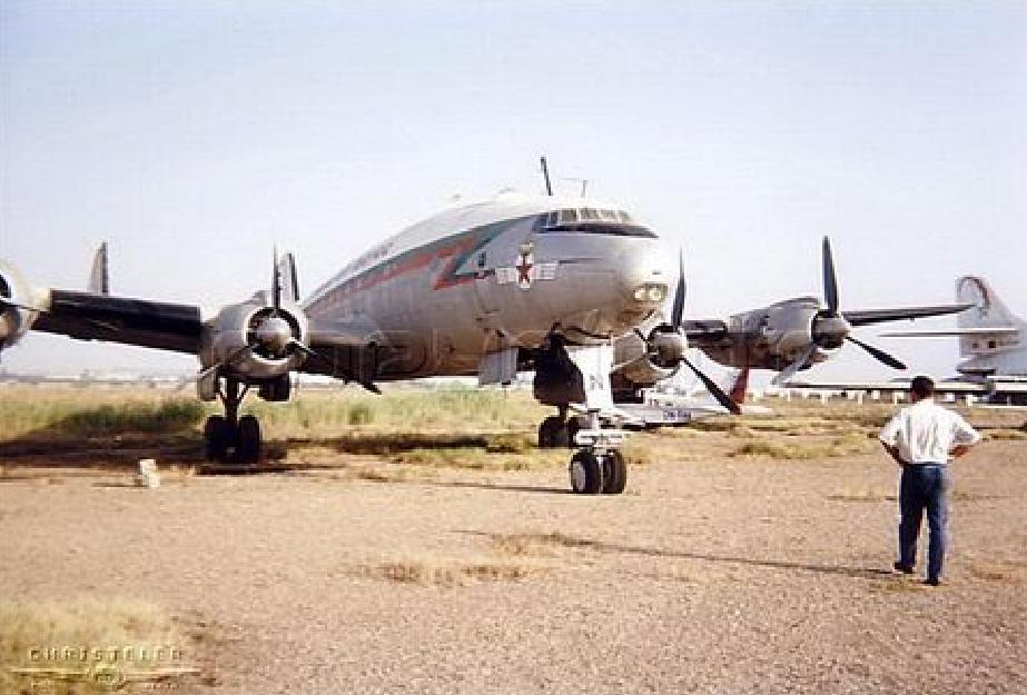 Anciens avions de la RAM 2210