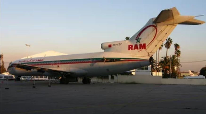 Anciens avions de la RAM Ram10
