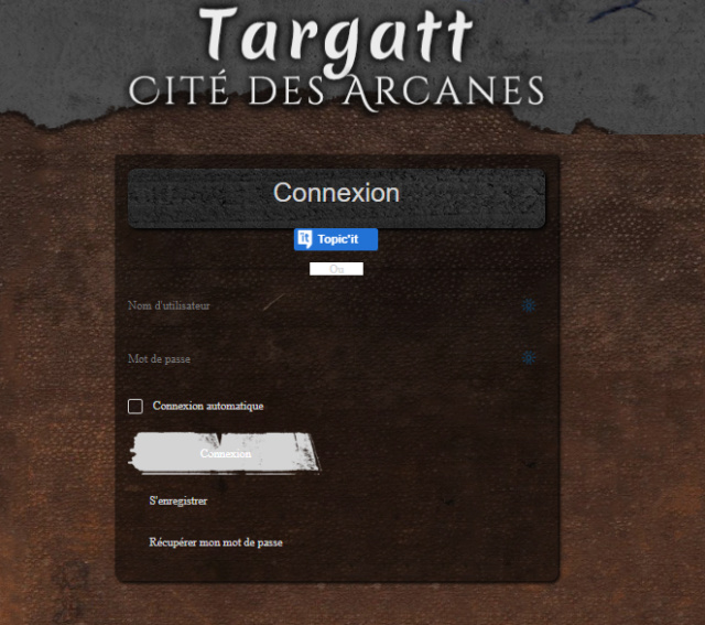 Onglet SideBar accessible seulement au staff. Captur10