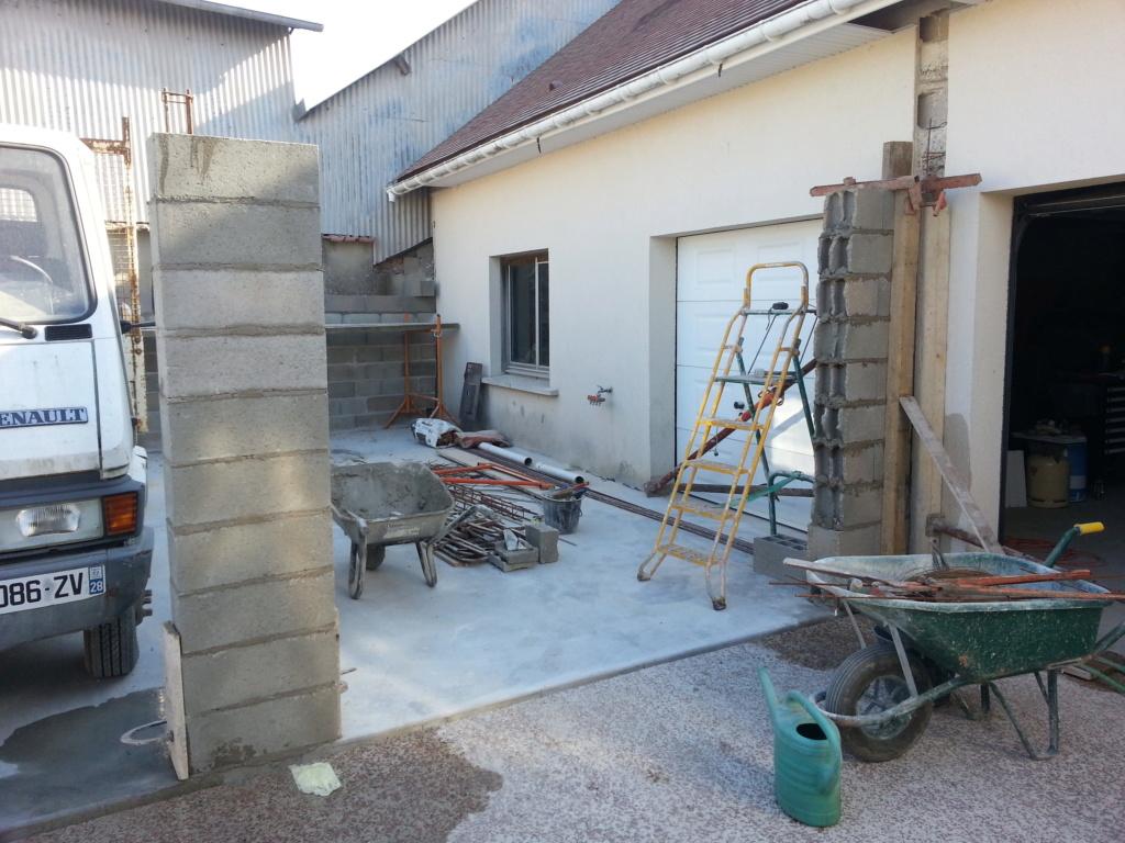 extension du garage  12410