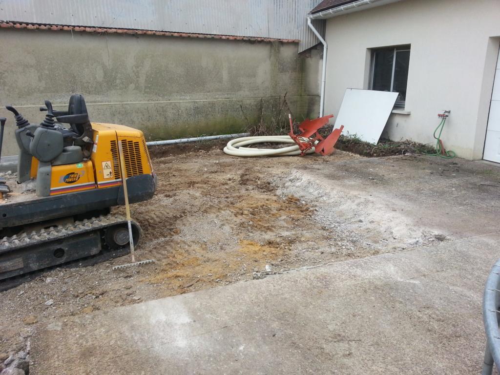 extension du garage  8710