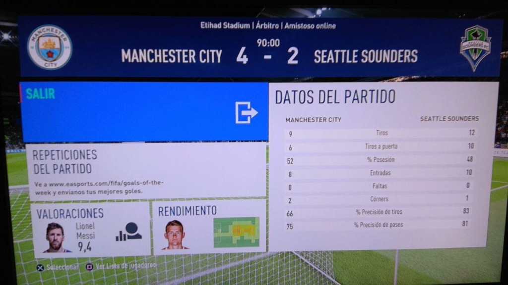 Amistoso Manchester City 4-2 Seattle Sounders - 12/04/2019 114