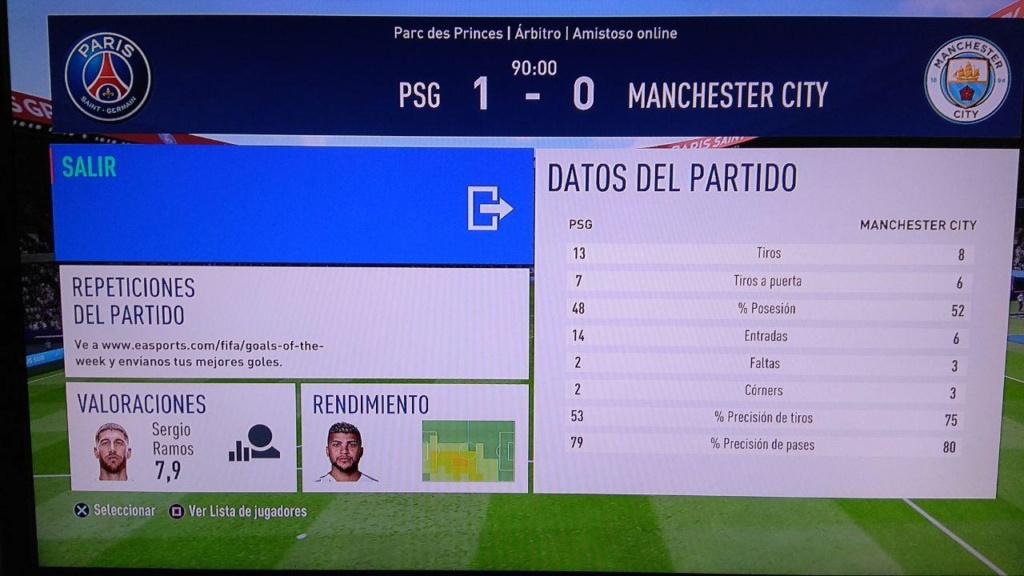 Amistoso PSG 1-0 Manchester City - 13/04/2019 410