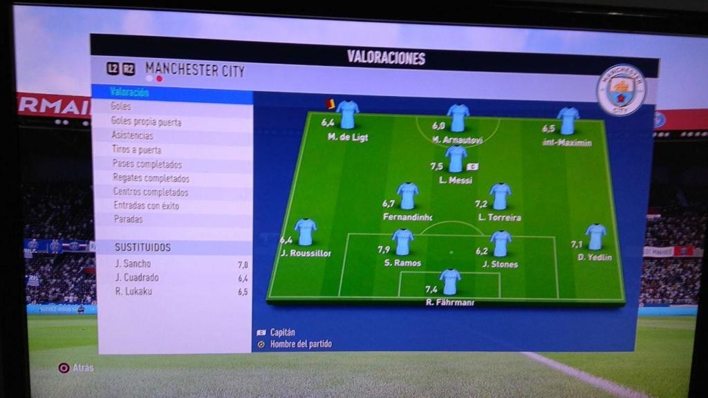 Amistoso PSG 1-0 Manchester City - 13/04/2019 510