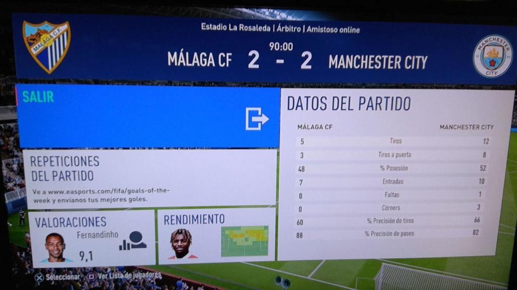 Amistoso Málaga 2-2 Manchester City - 14/04/2019 710