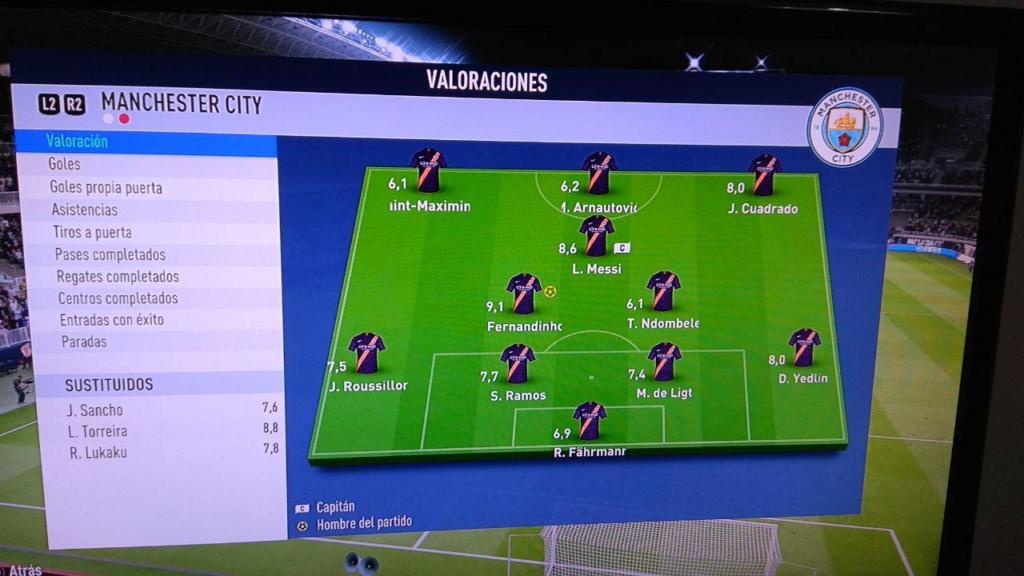 Amistoso Málaga 2-2 Manchester City - 14/04/2019 810